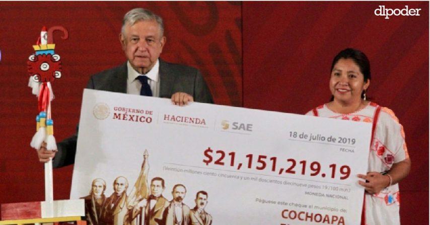 AMLO reparte dinero en Guerrro, uno de los municipios más pobres es gobernado por Morena