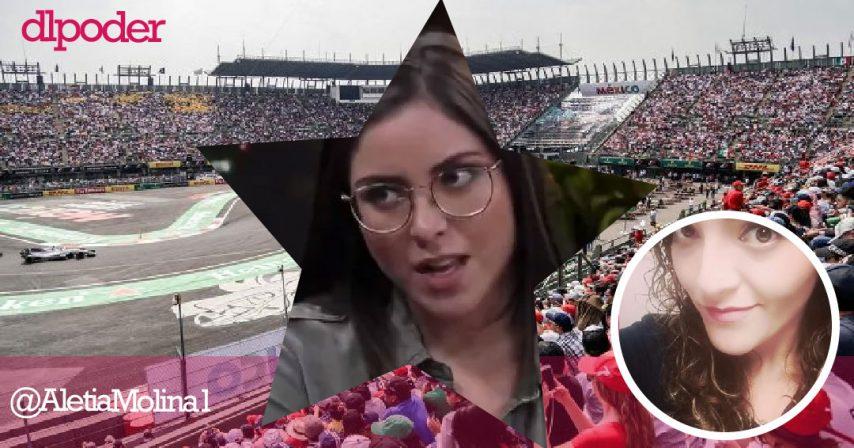 Estefanía Veloz, activista morenista, dice que la F1 es clasista