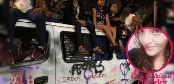 #EllasNoMeRepresentan Violencia con violencia