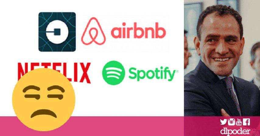 uber netflix spotify pagaran impuestos en México: Hacienda