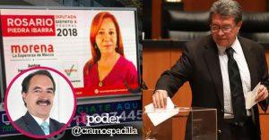 Monreal da tiro de gracia a la CNDH al proteger fraude de Rosario Piedra