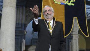 Enrique Graue rinde protesta como rector de la UNAM
