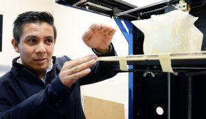 Diseñan impresora 3D para crear huesos artificiales