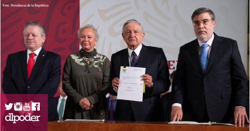 iniciativa defensoria del pueblo poder judicial amlo arturo zaldivar