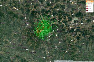 Científicos de la UNAM analizan el origen de enjambre sísmico de Michoacán