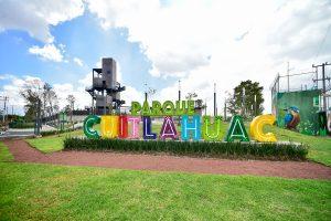 AMLO inaugura parque Cuitláhuac en Iztapalapa y anuncia plan para garantizar agua en la demarcación