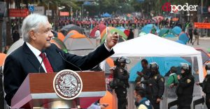 """AMLO sigue sin ofrecer diálogo: """"Que terminen de formar bloque reaccionario"""" al referirse a FRENAAA"""
