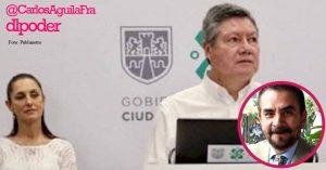 CDMX en caos mientras Sheinbaum promueve a su amigo García Nieto en Morena