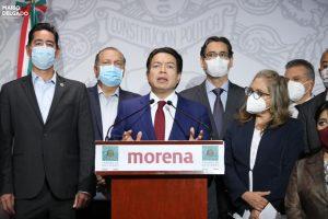 Mario Delgado gana dirigencia de MORENA con 58.6% de aprobación