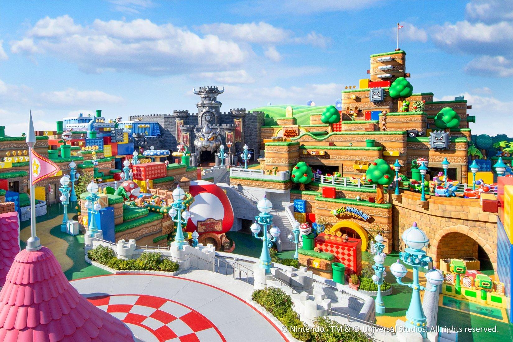 """Parque temático """"Super Nintendo World"""" abrirá en 2021"""