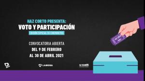Concurso de cortometraje busca promover el derecho al voto