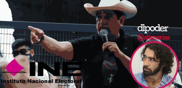 Un llamado frente al ataque de Morena al INE