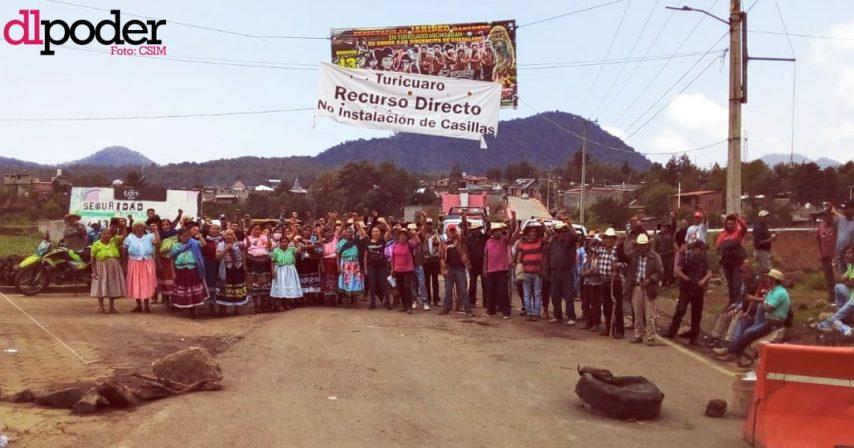 comunidades indígenas Michoacán