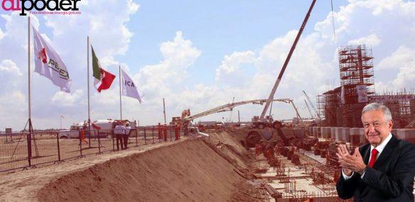 Pemex construye Dos Bocas en área que prometió proteger